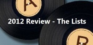 2012 Review - The Lists